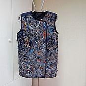 Одежда handmade. Livemaster - original item Warm double-sided vest