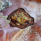"""Украшения ручной работы. Ярмарка Мастеров - ручная работа Брошь """"Рыбка"""". Handmade."""