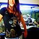 Футболки, майки ручной работы. Футболка Летающая золотая рыбка. Ирина - АртМайка и Чемодан чудес (artmaika). Ярмарка Мастеров. черный