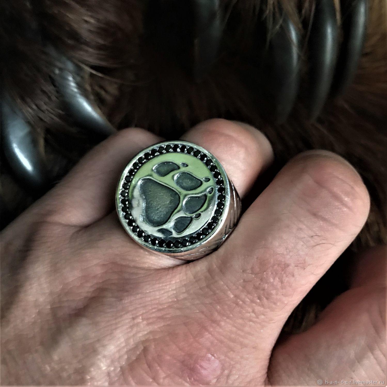 """Перстень """"Лапа Волка"""", Народные украшения, Кострома,  Фото №1"""