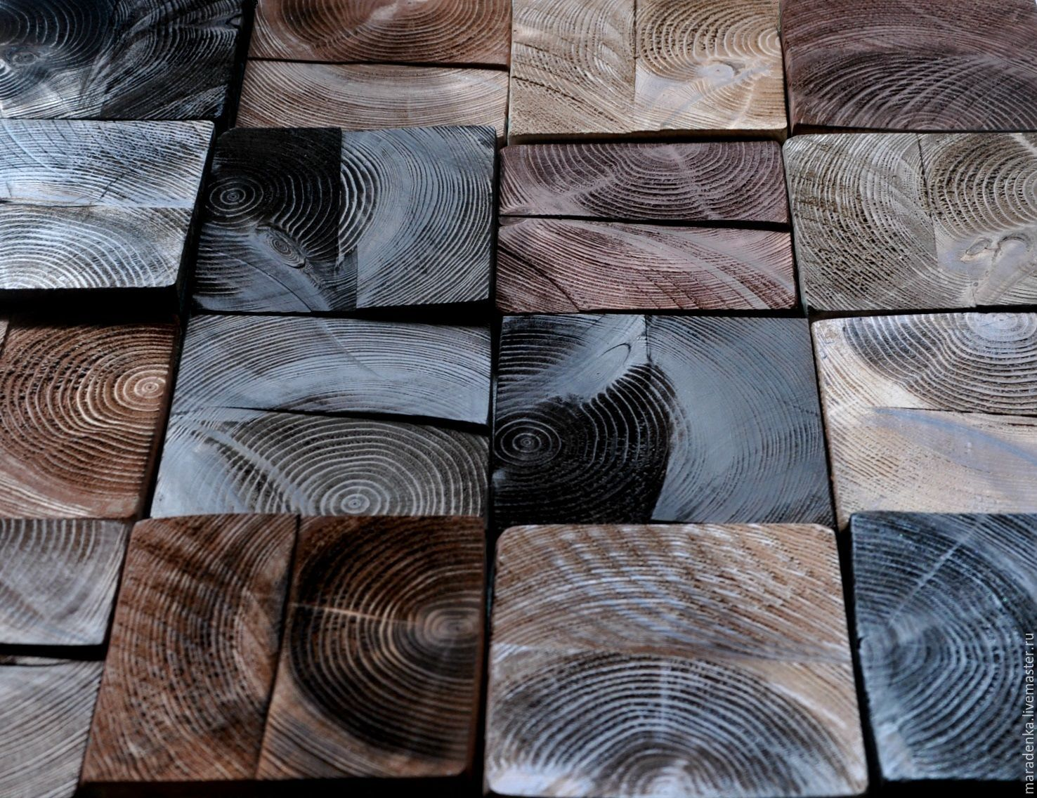 Panels wooden Chocolate Loft. Wall panels. Panel of wood, Pictures, Moscow,  Фото №1