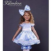 Работы для детей, ручной работы. Ярмарка Мастеров - ручная работа карнавальный костюм Мальвины, куклы-57. Handmade.
