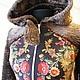 Куртка утепленная из платка Изысканная (копия).
