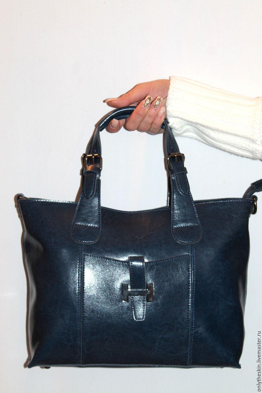 Кожаные сумки, женские, натуральные, из