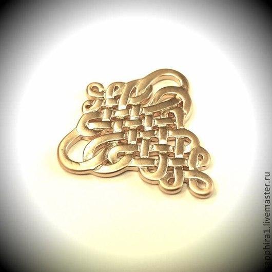 Для украшений ручной работы. Ярмарка Мастеров - ручная работа. Купить Коннектор Плетение gold plated Южная Корея. Handmade.