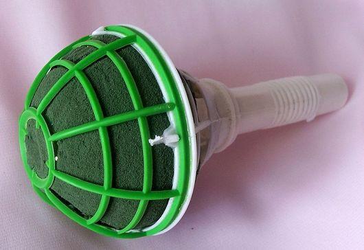Другие виды рукоделия ручной работы. Ярмарка Мастеров - ручная работа. Купить Основа для букета ( Микрофон-порт букетница. Handmade.