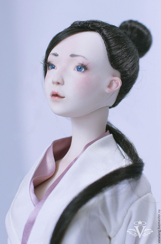 Коллекционные фарфоровые куклы ручной работы изоражения