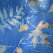 """Аксессуары ручной работы. Ярмарка Мастеров - ручная работа Платок  шелковый-шифон """" Глубина"""". Handmade."""