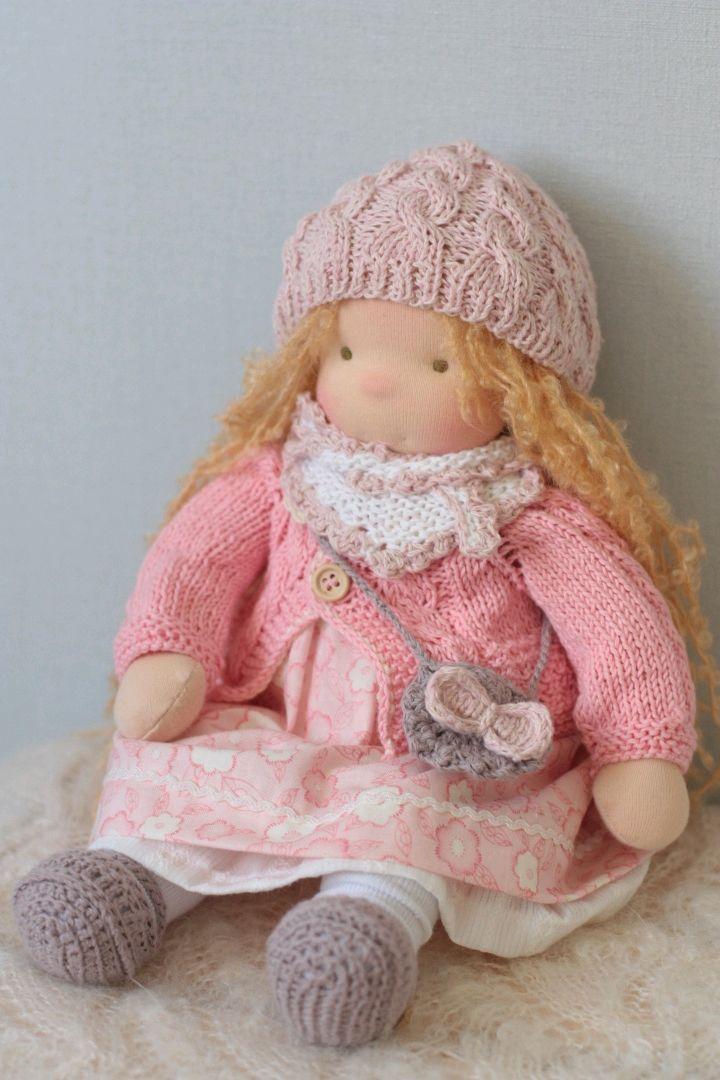Вальдорфская кукла Кристина 36 см, Вальдорфские куклы и звери, Москва,  Фото №1