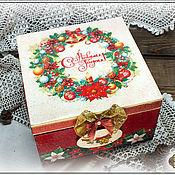 Подарки к праздникам ручной работы. Ярмарка Мастеров - ручная работа Новогодний подарочный набор. Handmade.