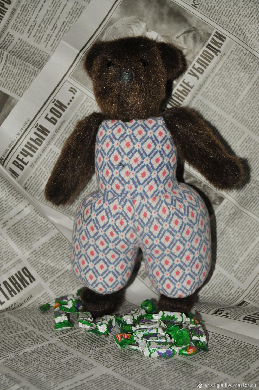 Большой медведь по старинной выкройке, Мягкие игрушки, Москва,  Фото №1