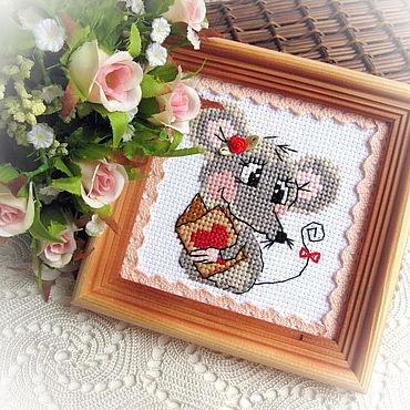 Сувениры и подарки ручной работы. Ярмарка Мастеров - ручная работа Моей любимой мышке. Handmade.
