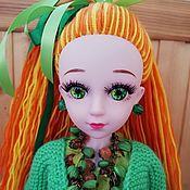 Шарнирная кукла ручной работы. Ярмарка Мастеров - ручная работа Шарнирная кукла: Октябрина.. Handmade.
