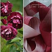 Материалы для творчества handmade. Livemaster - original item Silk melange ribbon 32 mm (3 m). Handmade.
