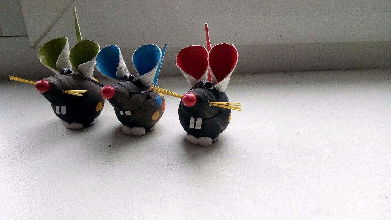 Мышь фигурка, Колокольчики, Владимир,  Фото №1