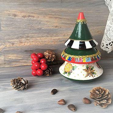 """Сувениры и подарки ручной работы. Ярмарка Мастеров - ручная работа Елочка музыкальная  """"Jingle bells"""". Handmade."""