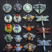 Материалы для творчества handmade. Livemaster - original item Ceramic cabochons. Cabochons for jewelry.. Handmade.