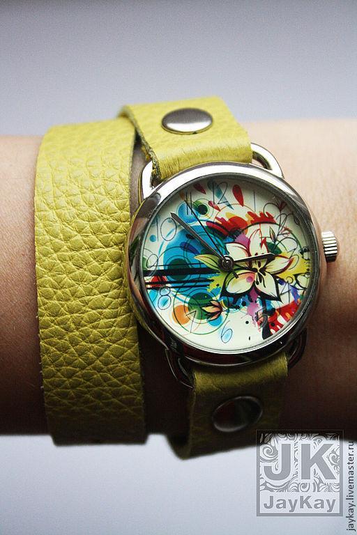 Часы ручной работы. Ярмарка Мастеров - ручная работа. Купить Наручные часы JK. Handmade. Наручные часы, часы