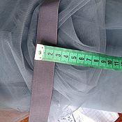Материалы для творчества ручной работы. Ярмарка Мастеров - ручная работа Резинка цветная серая под фатин. Handmade.