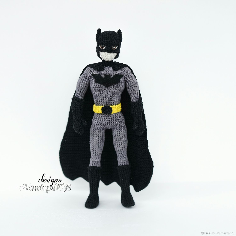 Master class 'Batman' (description of knitting), Knitting patterns, Korolev,  Фото №1