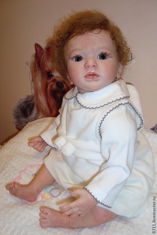 Куклы-младенцы и reborn ручной работы. Ярмарка Мастеров - ручная работа. Купить Кукла реборн Джульетта. Handmade. Бежевый