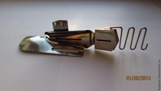 Шитье ручной работы. Ярмарка Мастеров - ручная работа. Купить Окантовыватель 1,1 см для трикотажа в четыре сложения. Handmade.