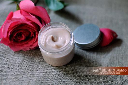 Крем для рук Роза и малина, восстанавливающий крем, крем для рук и ногтей, розовый крем, натуральный крем, домашний крем для рук