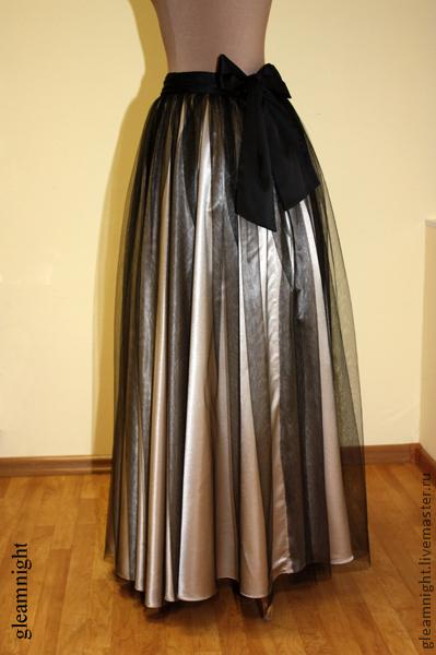 Вечерние юбки в пол купить