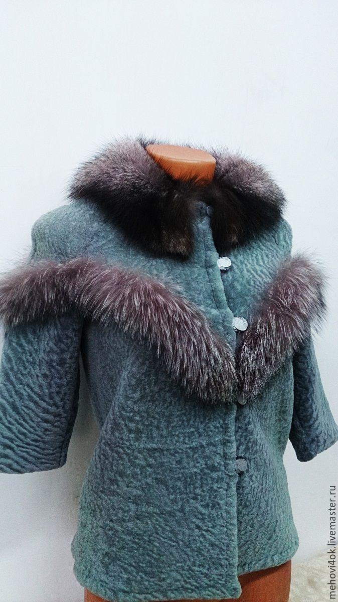 """Одежда для девочек, ручной работы. Ярмарка Мастеров - ручная работа. Купить Меховое пальто """"Хамелеон"""", детская шубка из меха, для девочки. Handmade."""
