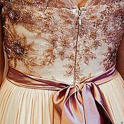 Одежда ручной работы. Ярмарка Мастеров - ручная работа Выпускное платье из шелка. Handmade.