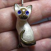 Украшения handmade. Livemaster - original item Kitten pendant. Handmade.