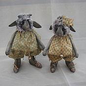 Куклы и игрушки ручной работы. Ярмарка Мастеров - ручная работа Овечки и козлята. Handmade.