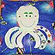 Развивающие игрушки ручной работы. Развивающий коврик-пазл. SINGULARIS (Veronika Darst). Интернет-магазин Ярмарка Мастеров. Сказка, фурнитура