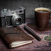Канцелярские товары handmade. Livemaster - original item Travelers notebook Midori passport size DOGMA. Handmade.