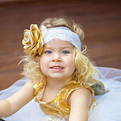 Работы для детей, handmade. Livemaster - original item headband for girls. Handmade.