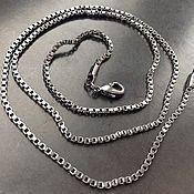Материалы для творчества handmade. Livemaster - original item Chain square art.2-3 with a dark glossy finish. Handmade.