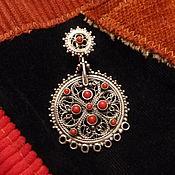 Украшения handmade. Livemaster - original item Earrings Makosh. Handmade.