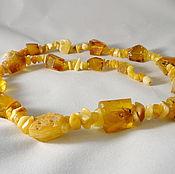 Украшения handmade. Livemaster - original item Amber necklace