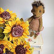 Куклы и игрушки ручной работы. Ярмарка Мастеров - ручная работа Ежика Вероника. Handmade.