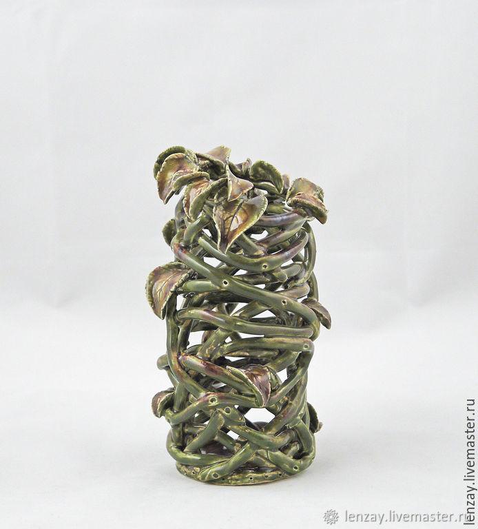 Миниатюрная ваза Болотная нимфа
