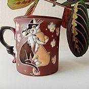 Посуда handmade. Livemaster - original item Mugs and cups: Hugs. Handmade.