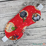 """Одежда ручной работы. Ярмарка Мастеров - ручная работа Маска для сна """"Коты"""". Handmade."""