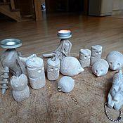 Куклы и игрушки ручной работы. Ярмарка Мастеров - ручная работа Игрушка оберег славянская фигурка ручной работы дерево. Handmade.
