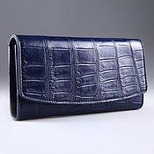 Сумки и аксессуары handmade. Livemaster - original item Wallet female crocodile leather IMA0004VC4. Handmade.