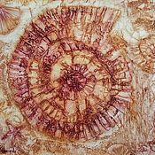 Картины и панно ручной работы. Ярмарка Мастеров - ручная работа Картина Аммонит. Handmade.