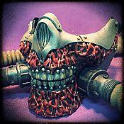 Маска для ролевых игр ручной работы. Ярмарка Мастеров - ручная работа Полумаска Immortan Joe. Handmade.