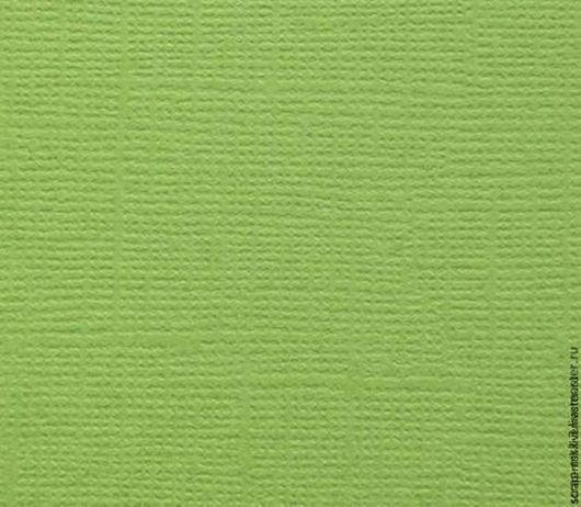 Открытки и скрапбукинг ручной работы. Ярмарка Мастеров - ручная работа. Купить Кардсток текстурированный Свежая зелень 2062. Handmade.