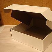 Материалы для творчества ручной работы. Ярмарка Мастеров - ручная работа Коробочка из микрогофрокартона. Handmade.