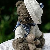 """Куклы и игрушки ручной работы. Ярмарка Мастеров - ручная работа Мишка Тедди"""" Морис  с игрушкой"""". Handmade."""