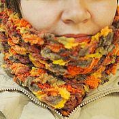 """Аксессуары ручной работы. Ярмарка Мастеров - ручная работа Шарф-труба """"Потому что осень"""". Handmade."""